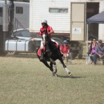 Jane Cooper Polocross action