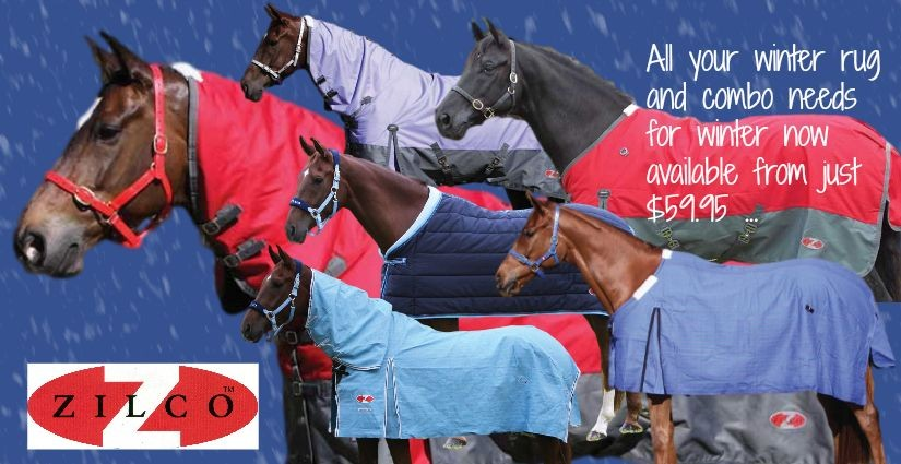 Winter Rugs from Zilco now In Store